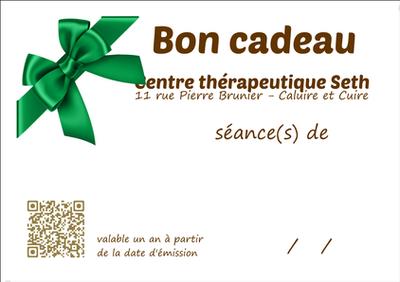 Bon cadeau massage sophrologie